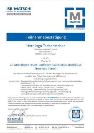 CE-Grundlagen Feuer- und/oder Rauchschutzabschlüsse (Tore und Türen)