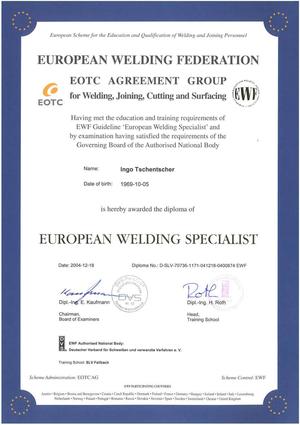 European Welding Federation
